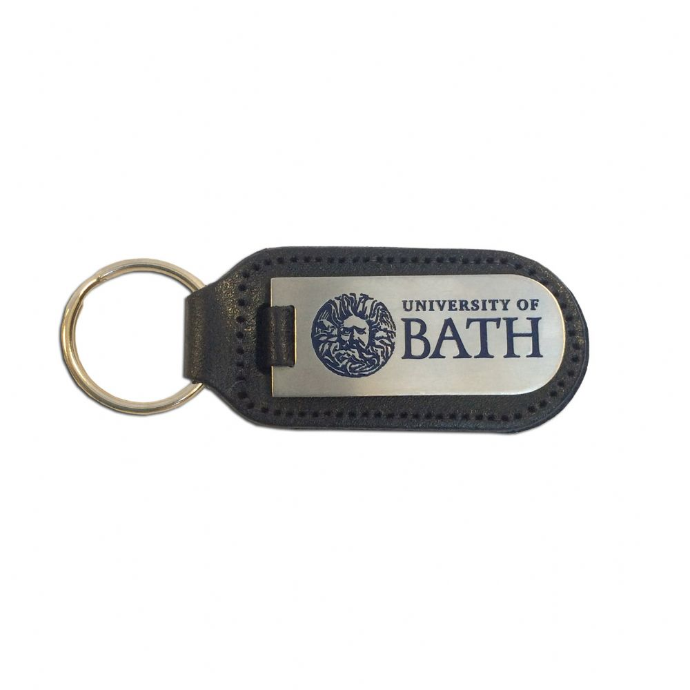 University of Bath Leather Key Fob